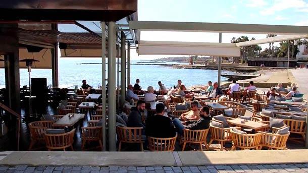 Кафе на острове Кипр