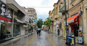 Туристическая улица Ледра в Никосии (Кипр)