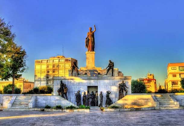 Монумент свободы в Никосии