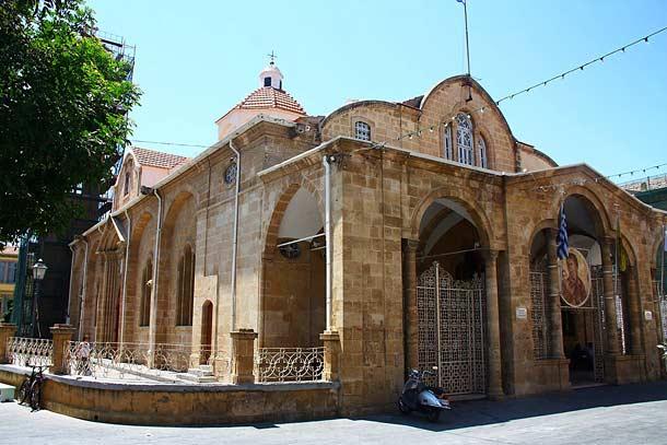 Церковь Панагия Фанеромени в Никосии