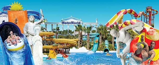Аквапарк в Айя Напе Водный мир