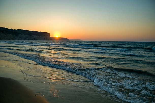 Пляж для отдыха Курион