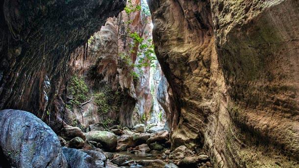 Ущелье Авакас в Кипре