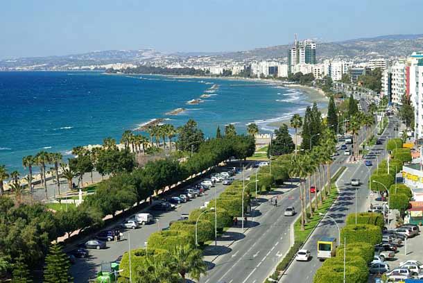 Набережная Лимассола (Кипр)