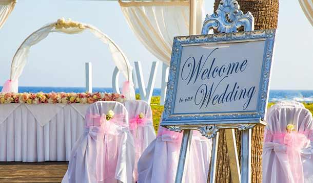 Свадьба в отеле Adams Bich 5