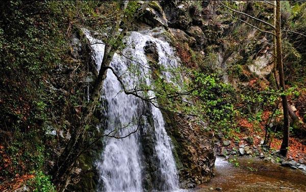 Водопад Кантара (Хантара) на Кипре