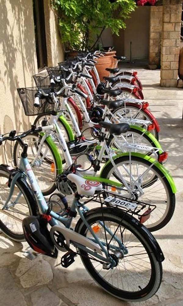 Аренда велосипедов в отеле Венус бич