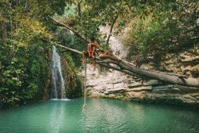 Топ 6 Водопадов Кипра: Милломерис, Каледония, купальня Адониса